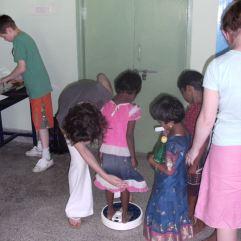 Weighing Children