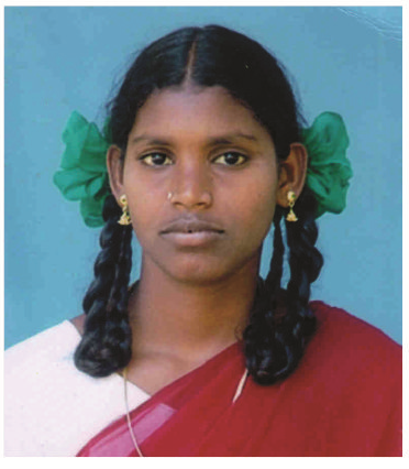 Sakunthala after recovering from her operation